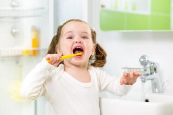 Salud bucal para niños