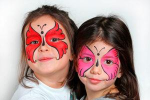 Maquillaje halloween niños