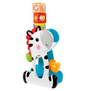 Cebra bloques de actividades - juguetes para bebés - Blog pepe ganga